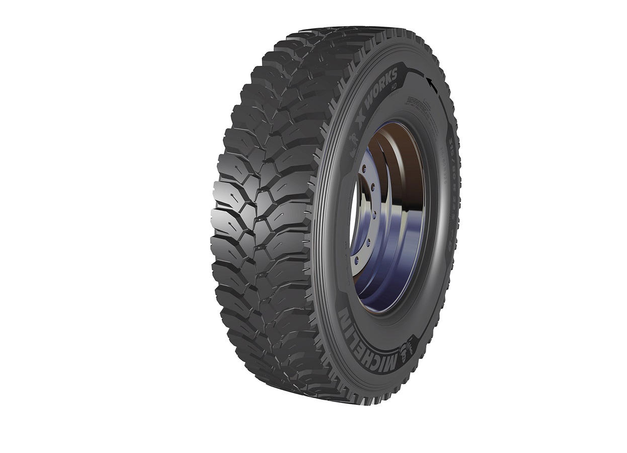 Anvelopa  MICHELIN X WORKS HD Z 315/80R22.5 156K